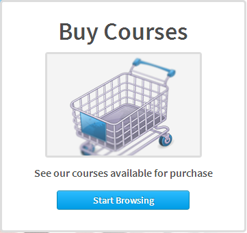 The Absorb LMS shopping cart