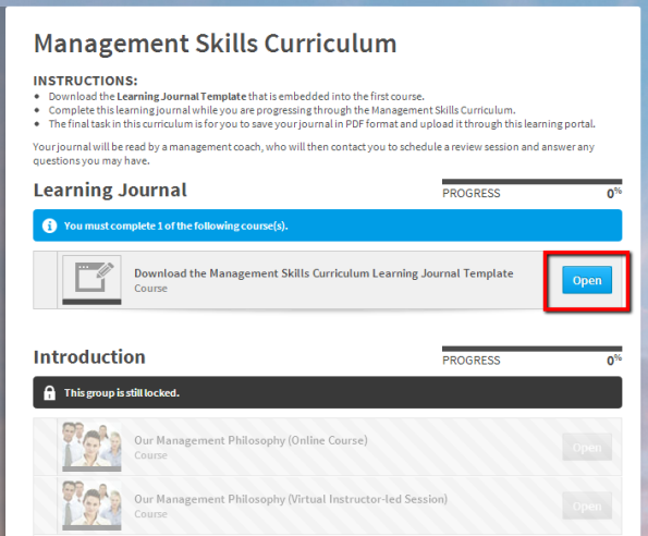 Absorb LMS—Download Learning Journal