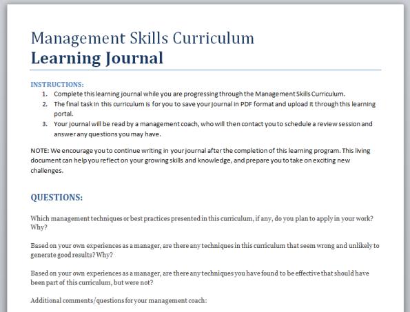 learningjournal